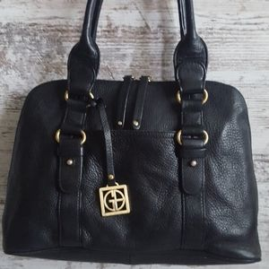 ⚅Giani Bernini Pebbled Leather Bag